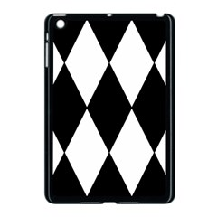 Chevron Black Copy Apple iPad Mini Case (Black)