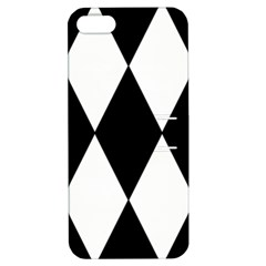 Chevron Black Copy Apple iPhone 5 Hardshell Case with Stand