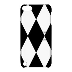 Chevron Black Copy Apple iPod Touch 5 Hardshell Case with Stand