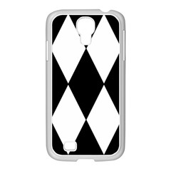Chevron Black Copy Samsung GALAXY S4 I9500/ I9505 Case (White)