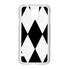 Chevron Black Copy Samsung Galaxy S5 Case (White)