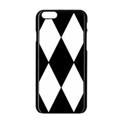 Chevron Black Copy Apple iPhone 6/6S Black Enamel Case