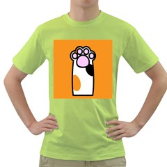 Cathand Orange Green T-Shirt