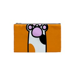 Cathand Orange Cosmetic Bag (Small)