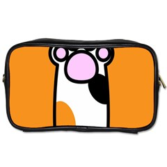 Cathand Orange Toiletries Bags 2-Side