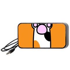 Cathand Orange Portable Speaker (Black)