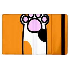 Cathand Orange Apple iPad 3/4 Flip Case