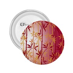 Bamboo Tree New Year Red 2.25  Buttons