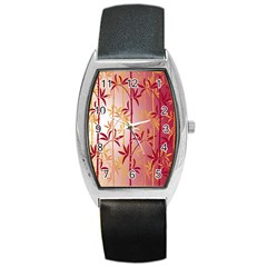 Bamboo Tree New Year Red Barrel Style Metal Watch