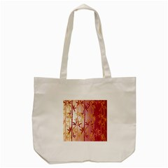 Bamboo Tree New Year Red Tote Bag (Cream)