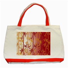 Bamboo Tree New Year Red Classic Tote Bag (Red)