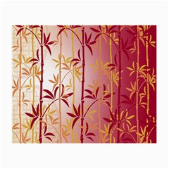 Bamboo Tree New Year Red Small Glasses Cloth (2-Side)
