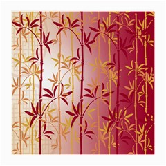 Bamboo Tree New Year Red Medium Glasses Cloth (2-Side)