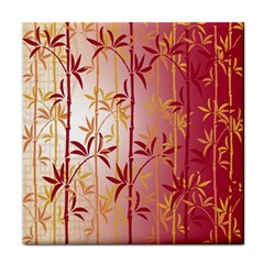 Bamboo Tree New Year Red Face Towel