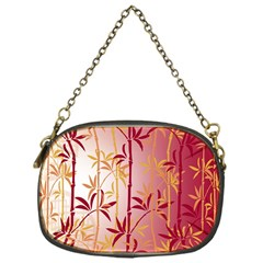Bamboo Tree New Year Red Chain Purses (One Side)