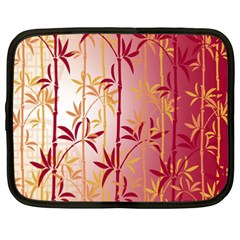 Bamboo Tree New Year Red Netbook Case (XXL)