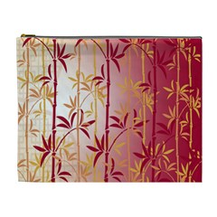 Bamboo Tree New Year Red Cosmetic Bag (XL)