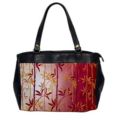Bamboo Tree New Year Red Office Handbags