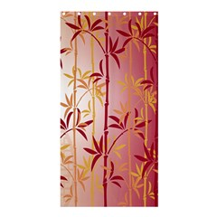 Bamboo Tree New Year Red Shower Curtain 36  x 72  (Stall)