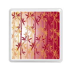 Bamboo Tree New Year Red Memory Card Reader (square)