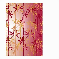 Bamboo Tree New Year Red Small Garden Flag (Two Sides)