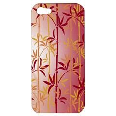 Bamboo Tree New Year Red Apple iPhone 5 Hardshell Case