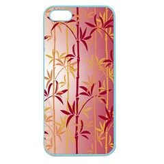 Bamboo Tree New Year Red Apple Seamless iPhone 5 Case (Color)