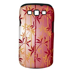 Bamboo Tree New Year Red Samsung Galaxy S III Classic Hardshell Case (PC+Silicone)