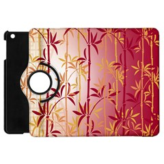 Bamboo Tree New Year Red Apple iPad Mini Flip 360 Case