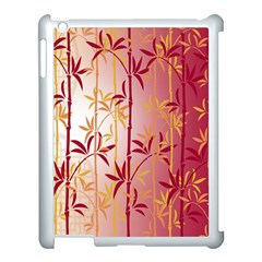 Bamboo Tree New Year Red Apple iPad 3/4 Case (White)