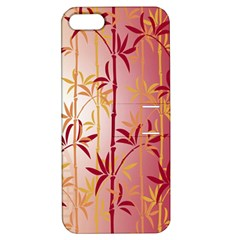 Bamboo Tree New Year Red Apple iPhone 5 Hardshell Case with Stand