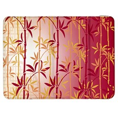 Bamboo Tree New Year Red Samsung Galaxy Tab 7  P1000 Flip Case