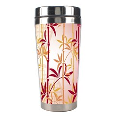 Bamboo Tree New Year Red Stainless Steel Travel Tumblers
