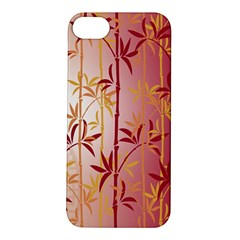 Bamboo Tree New Year Red Apple iPhone 5S/ SE Hardshell Case