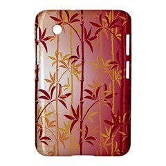 Bamboo Tree New Year Red Samsung Galaxy Tab 2 (7 ) P3100 Hardshell Case