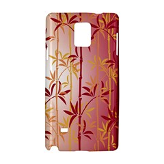 Bamboo Tree New Year Red Samsung Galaxy Note 4 Hardshell Case