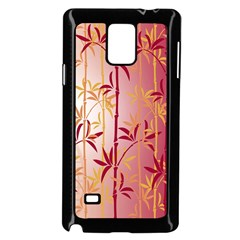 Bamboo Tree New Year Red Samsung Galaxy Note 4 Case (Black)