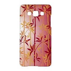 Bamboo Tree New Year Red Samsung Galaxy A5 Hardshell Case