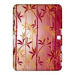 Bamboo Tree New Year Red Samsung Galaxy Tab 4 (10.1 ) Hardshell Case