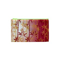 Bamboo Tree New Year Red Cosmetic Bag (XS)