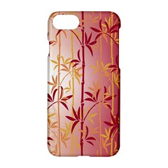 Bamboo Tree New Year Red Apple Iphone 7 Hardshell Case