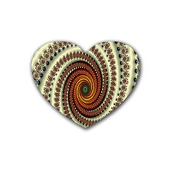 Ektremely Heart Coaster (4 pack)