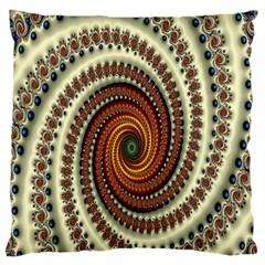 Ektremely Large Flano Cushion Case (Two Sides)