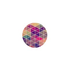 Chevron Colorful 1  Mini Magnets