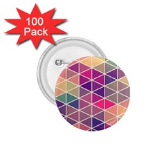 Chevron Colorful 1.75  Buttons (100 pack)
