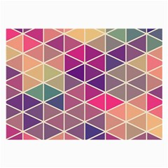 Chevron Colorful Large Glasses Cloth