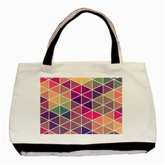 Chevron Colorful Basic Tote Bag (Two Sides)