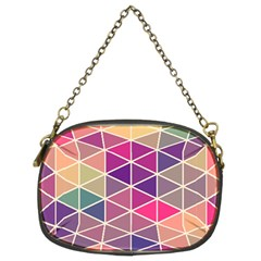 Chevron Colorful Chain Purses (Two Sides)