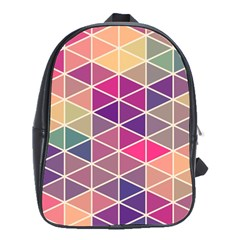 Chevron Colorful School Bags(Large)