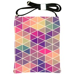 Chevron Colorful Shoulder Sling Bags